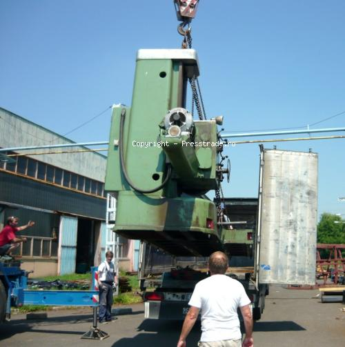 Loading of SRM lathe and W100 boring mill