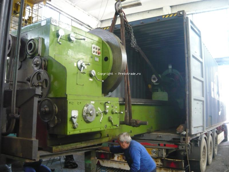 Loading into container - lathe SARO SP 1250 x 6000