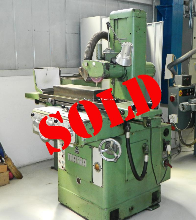 MATRA MF6 Surface Grinding Machine - SOLD