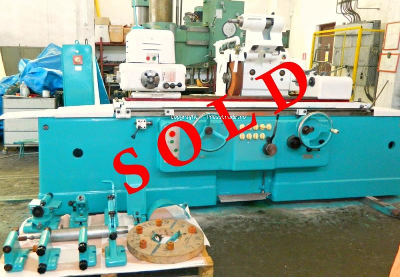 Universal grinding machine TOS type BUA 31 x 1000 - SOLD